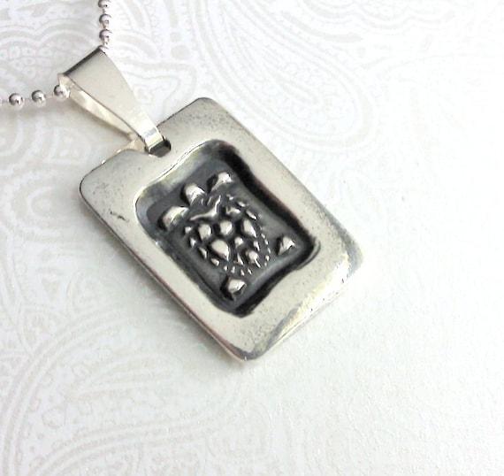 Silver Sea Turtle Necklace