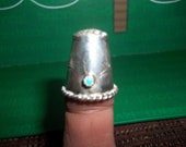 Beautiful Vintage Sterling Thimble