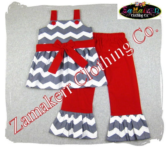 Holiday santa pant set 3 6 9 12 18 24 month size 2t 3t 4t 5t 6 7 8