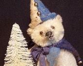 JAMESON the CHRISTMAS TEDDY - Original Mohair Teddy Bear