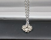 BEAUTIFUL Celtic Labyrinth PENDANT and NECKLACE
