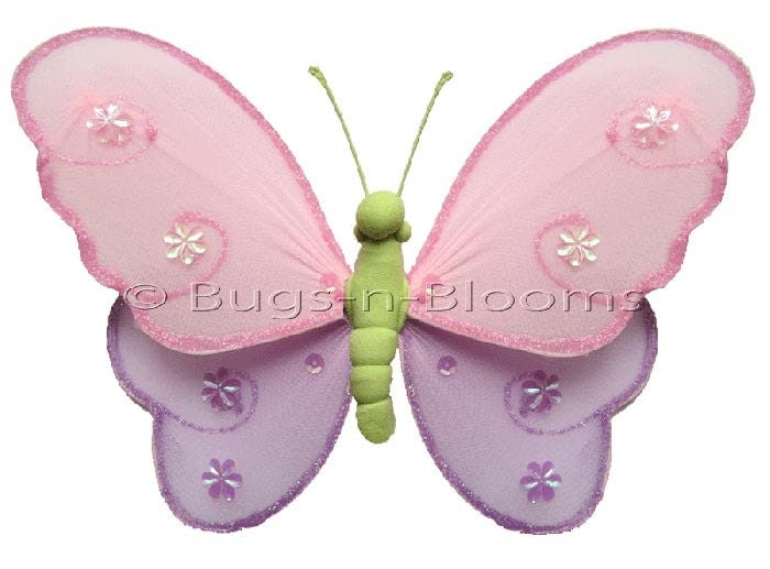 Chandeliers pendant lights for Baby shower decoration butterfly