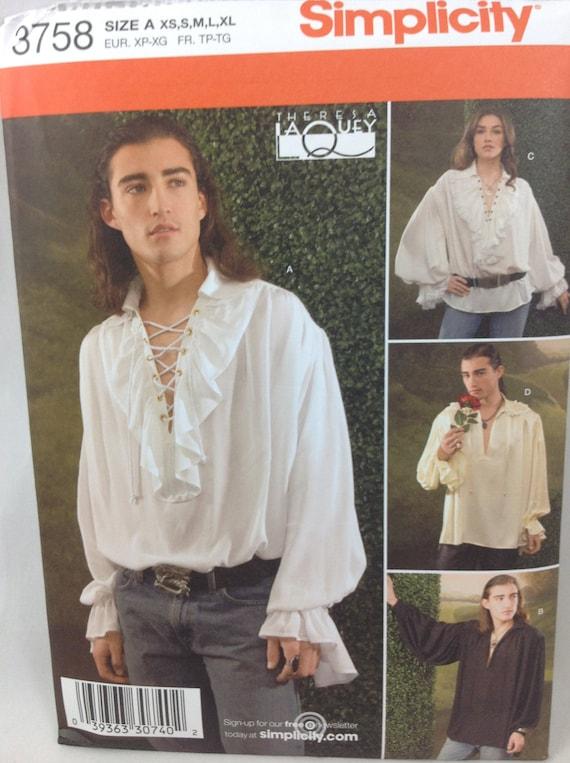 Peasant Shirt Mens
