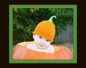Baby Boy Girl Pumpkin Hat