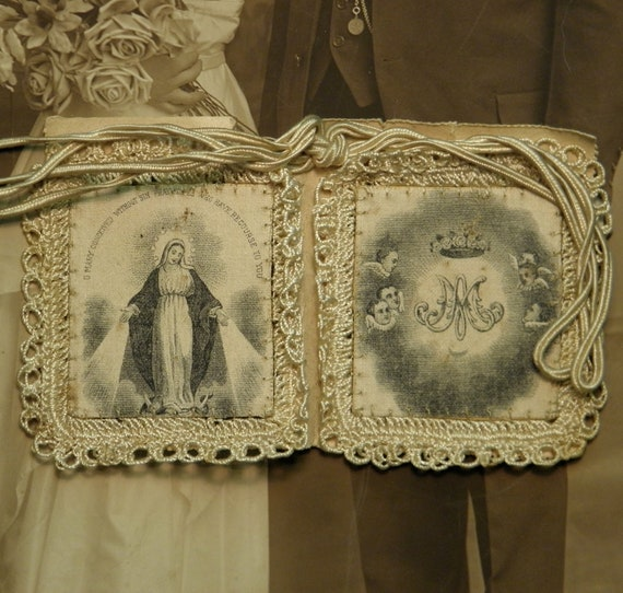 Vintage Scapular Religious