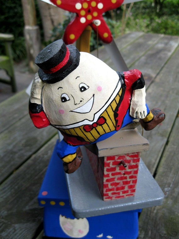 Humpty Dumpty Whirligig Teeter Totter Porch And Patio Fun