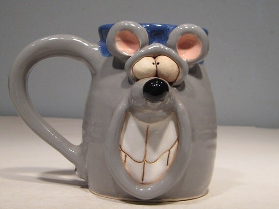 Happy Mouse Mug  ...     e82