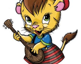 Louisa the Lioness (DIGI STAMP)