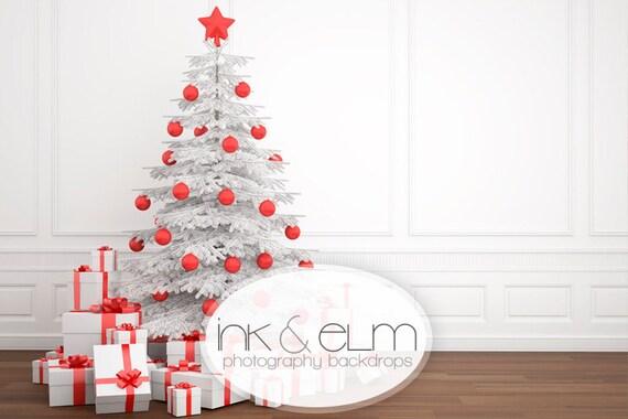 White Christmas Backdrop