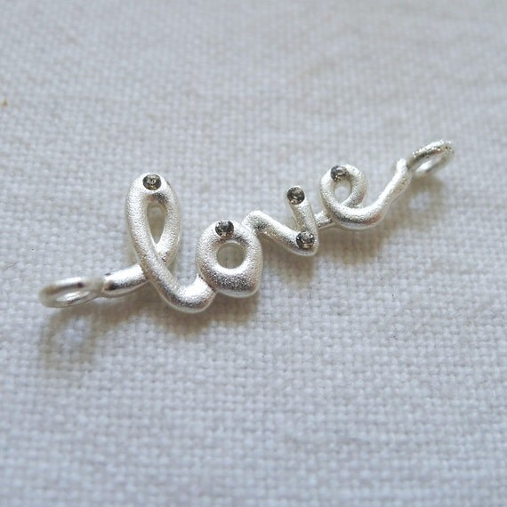 Love Connector, Silver Plated