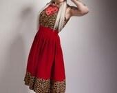 Custom Leopard Print Heart Summer Dress - EM Only - 2