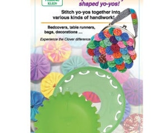 Clover Quick Yo Yo Maker Crafts DIY Fabric YoYos Tool Make Your Own YoYos Small Size