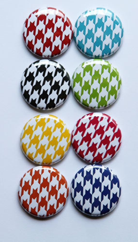 Bright Houndstooth Flair