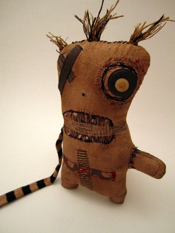 Grungy Handmade VooDoo Monster (Flea)