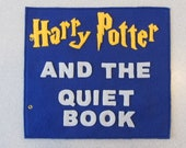 Harry Potter inspired quiet book (PATTERN)