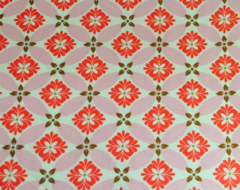 Secret Garden - Modern Meadow in Poppy - by Sandi Henderson for Michael Miller fabrics