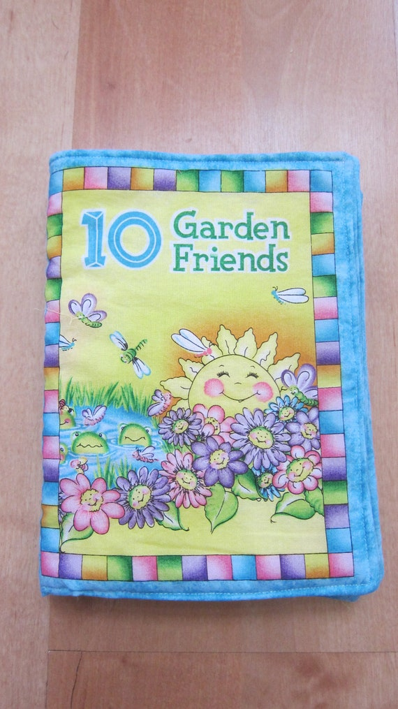 Garden Friends Fabric Book
