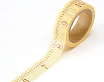 Washi tape 5/8 x 315 inch   roll tape measure