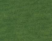 SALE! Echino Solids by Fabric Estuko Furuya - Moss Green - Half Yard