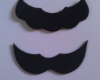 Character inspired Mustache Package, Adhesive Mustaches, 20 pack