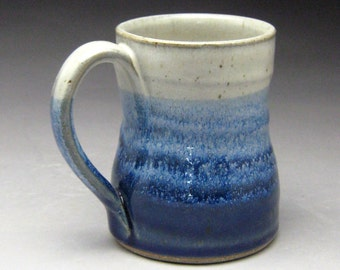 12 oz. to 14oz. Handmade Coffee Mug - Your choice of color- Made To Order