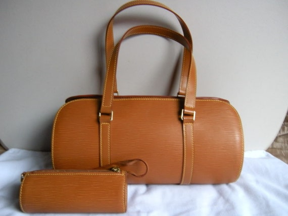 Reserved for EYDELE  Authentic Louis Vuitton Kenyan Brown Epi Soufflot Bag