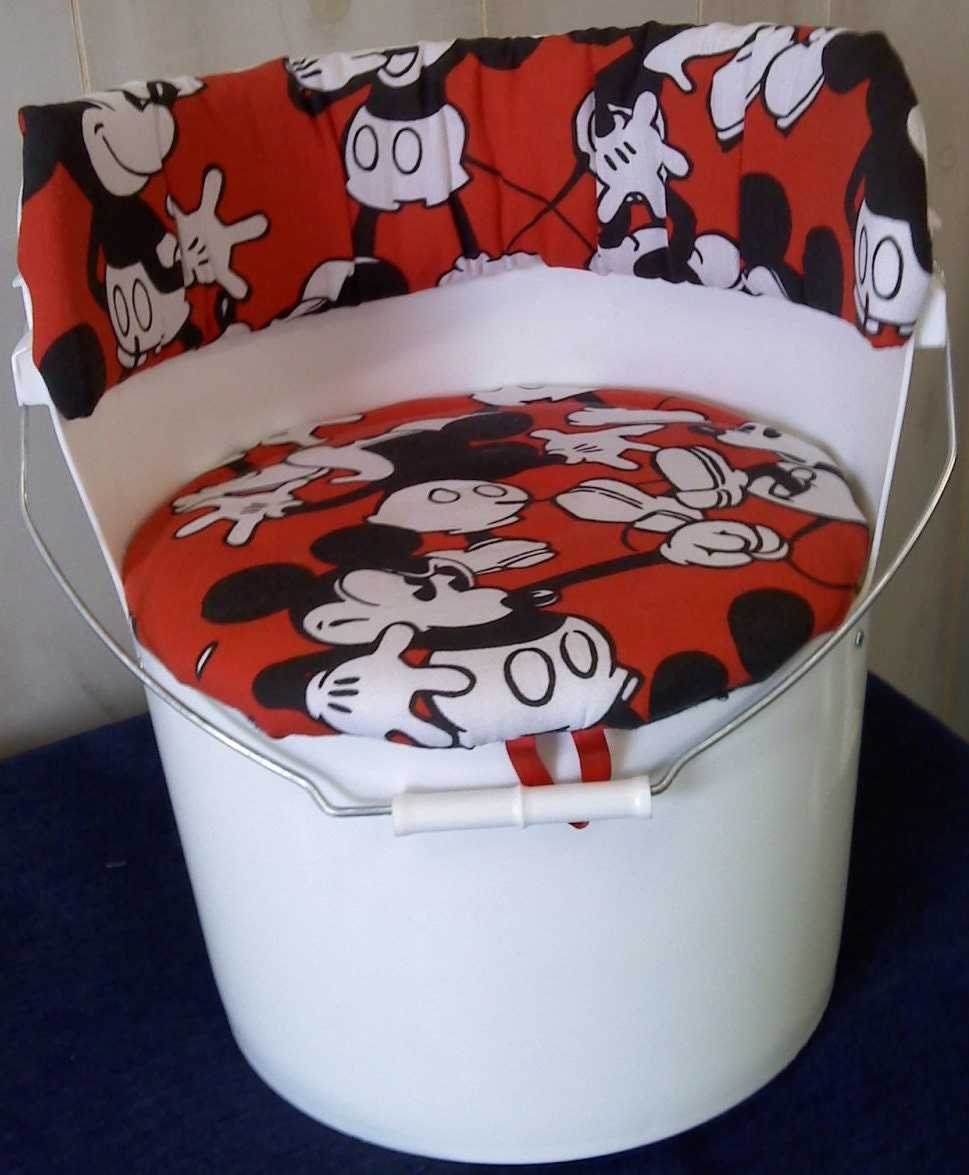 5 Gallon Bucket Chair Retro Mickey Mouse By Bucket2bucket