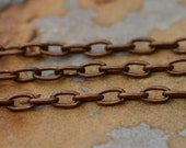 Shop Sale..3 ft. Trinity Vintage Patina Small Cable 4mm Chain -  Trinity Brass Co. LOW SHIPPING