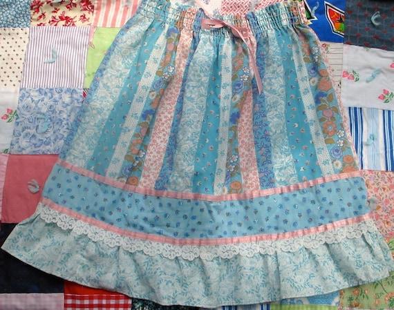 Vintage Prairie Skirt Dead Stock Girls 12