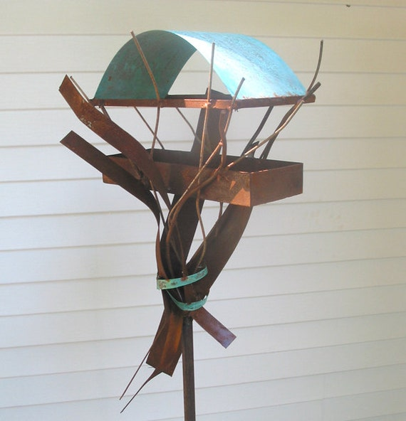 Sculptural Bird Feeder 250 - Reserved for Claudia