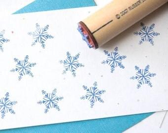 Filigree Snowflake Rubber Stamp
