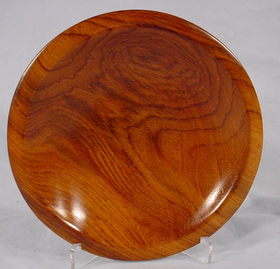 Reserve for Mike Joly only  Yucatan Rosewood Ring or Coin Dish turned wood bowl number 4638 by Bryan Tyler Nelson
