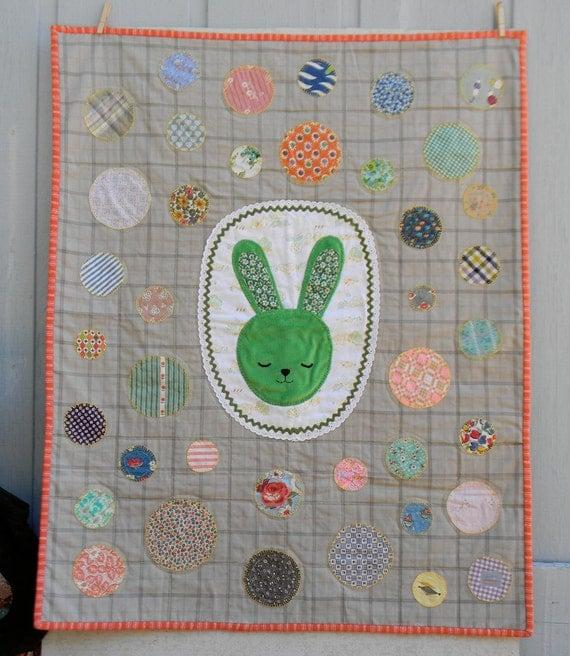 sleepy bunny quilt