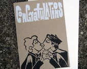 Two Grooms Congratulations Card