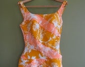 Reserved for nicole Yuna Spectacular Vintage Bathing Suit by Legendary Swim Suit Designer Rose Marie Reid szL