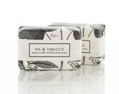 SALE Soap - Tea & Tobacco Shea Butter Bar