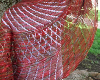 Curvature Shawl Pattern