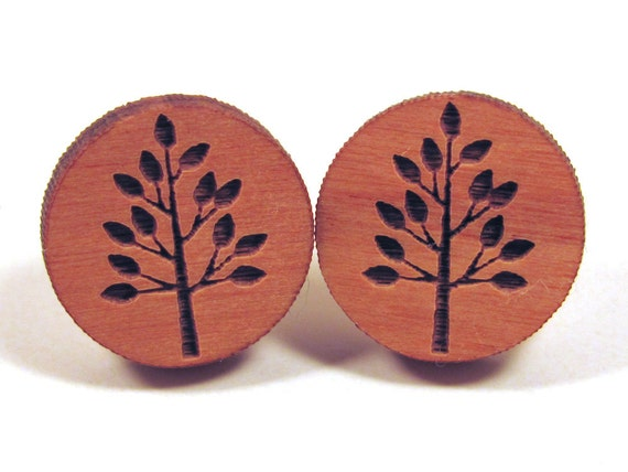 https://www.etsy.com/listing/115000930/wooden-tree-post-earring-studs