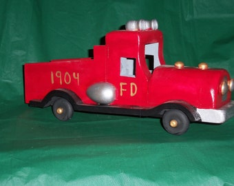 Old Fashion FIRE TRUCK
