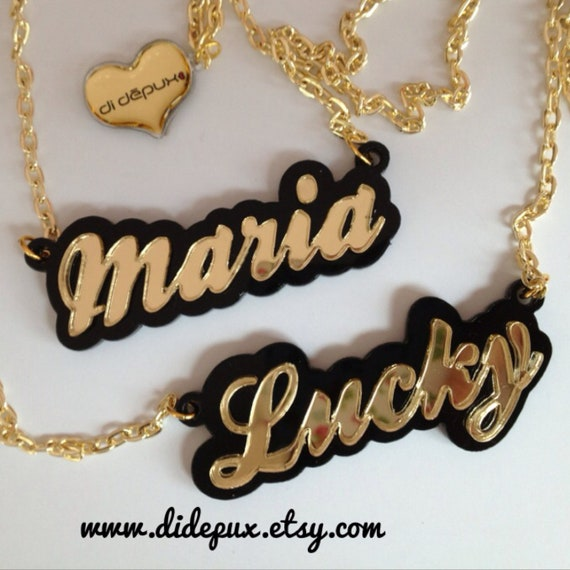 OFFER 2 custom classic NECKLACES
