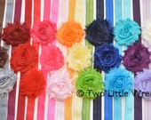 Baby Headband - Zoe Single Flower Headband - Your Choice of any ONE color - Baby Headband to Adult Headband - SPRING SALE - See Shop