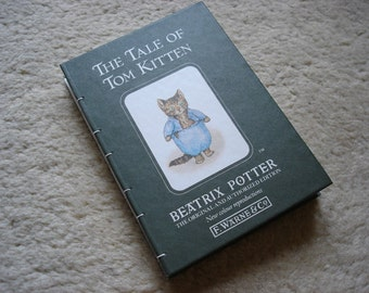 The Tale of Tom Kitten (an upcycled notebook)