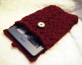 Kindle braid cover knitting pattern