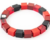 red velvet 1x1 bracelet