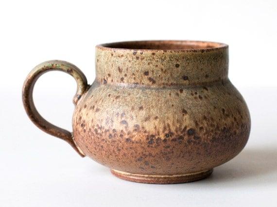 Speckled Stoneware Mug, 16 Ounces