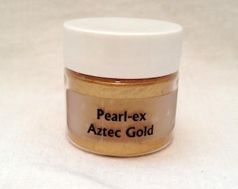 Jacquard Pearl Ex Mica Pigment Powder - 6 gram Jar - AZTEC GOLD #658