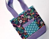 Small Purple Bird Tote bag