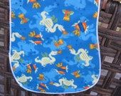 Mighty DRAGONS Burp cloth