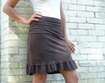 Marigold ~ Pencil Skirt ~ Hemp & Organic Cotton ~ Made to Order