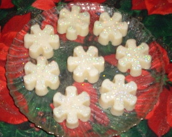 Christmas Snowflake Wax Tarts Snow Angels